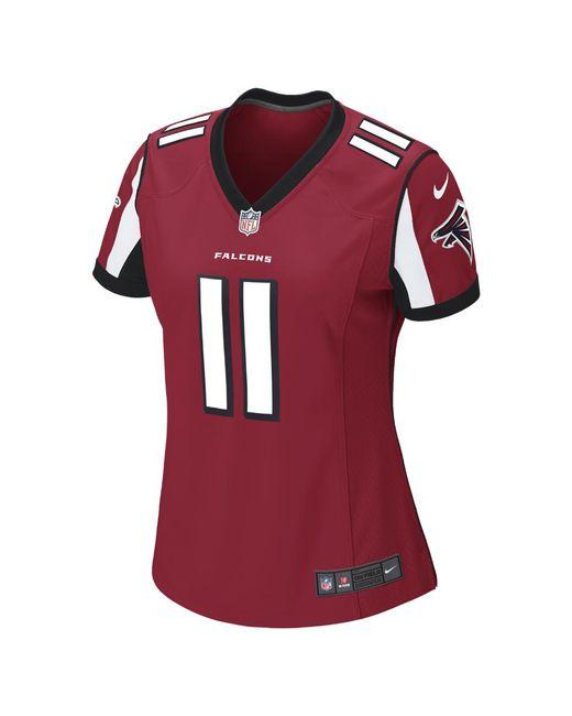 Nike - Red Nfl Atlanta Falcons (julio Jones) Women s Football Home Game  Jersey - c828682b4