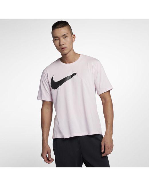 Nike - Pink Dri-FIT Modern Kurzarm-Trainingsoberteil für Herren for Men - Lyst
