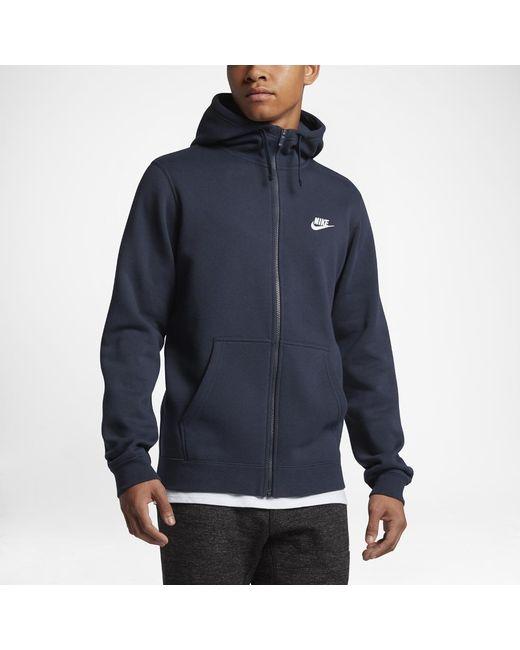 ea3575773902 Lyst - Nike Sportswear Full-zip in Blue for Men