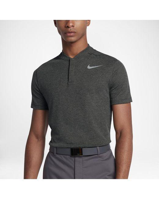 ca5d4813 Lyst - Nike Aeroreact Men's Slim Fit Golf Polo Shirt in Black for Men