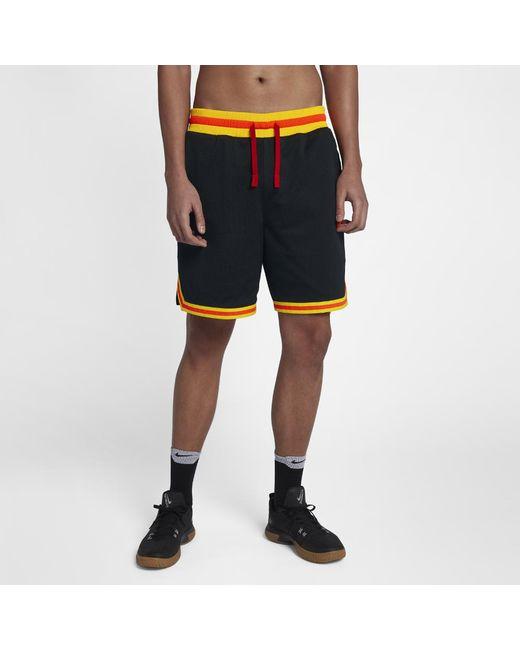 8bff6d3c7d1b Lyst Nike Dna Double Mesh Men S 8 Basketball Shorts In Black For Men