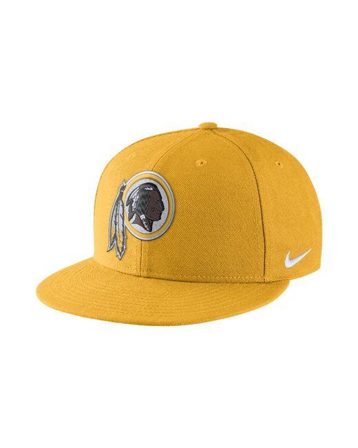 Nike - Metallic Color Rush True (nfl Redskins) Adjustable Hat (orange) for Men - Lyst
