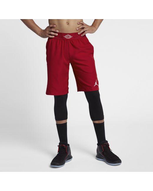 0fbac1b7046 Nike Jordan Ultimate Flight Basketball Shorts in Red for Men - Lyst
