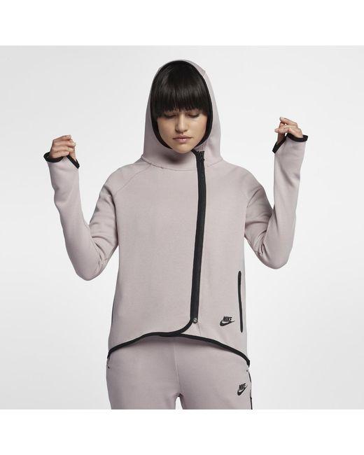 1f49ba7144c Nike - Multicolor Sportswear Tech Fleece Women s Full-zip Cape - Lyst