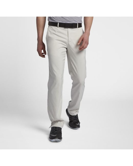 0ac5b336d00 Lyst - Nike Flat Front Men s Golf Pants in Gray for Men
