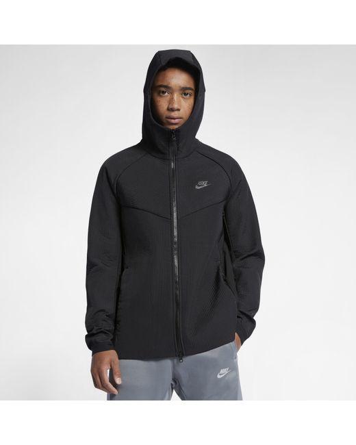 58421c61ca3f Nike - Black Sportswear Tech Pack Woven Jacket for Men - Lyst ...