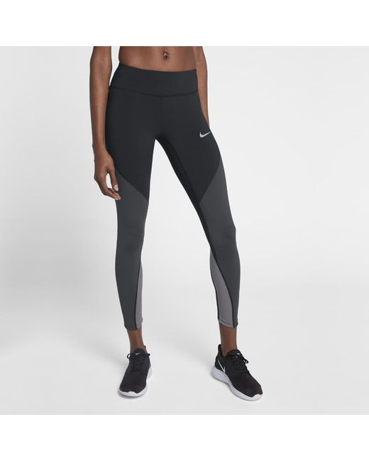 879909c189db Lyst - Nike Epic Lux Women s Running Tights in Black