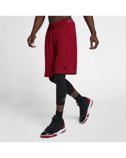 e5e796496581 Nike - Red Jordan Ultimate Flight Practice Basketball Shorts for Men - Lyst