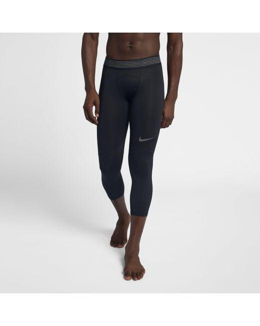 7b51c855563dc Nike - Black Pro Hypercool Training Tights for Men - Lyst ...