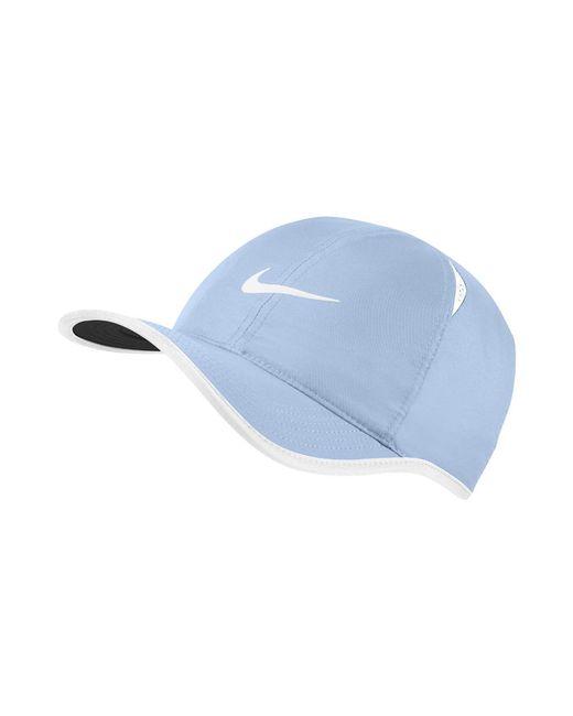 Lyst - Nike Court Featherlight Adjustable Tennis Hat (blue) in Blue ... 93d208af4be