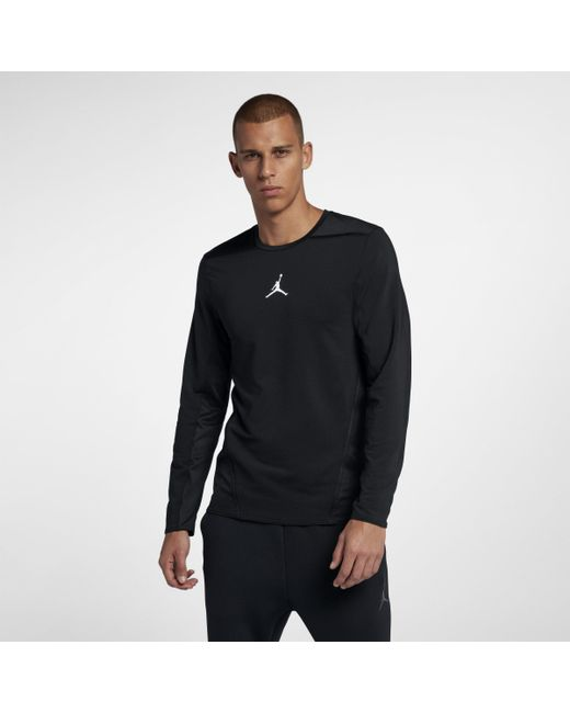 f66a906ea85e Nike - Black Jordan Ultimate Flight Basketball Shooting Top for Men - Lyst