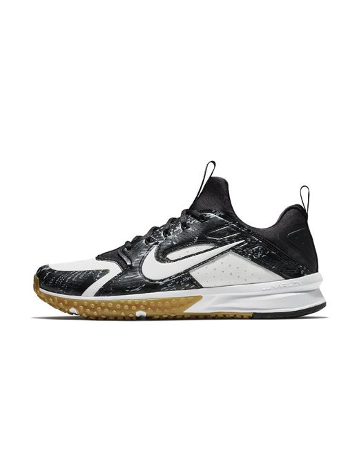 uk availability 0965a 3380d ... stealth blanco negro online d2eb2 147a0  order nike multicolor alpha  huarache turf mens baseball shoe for men lyst 8dd53 636d2