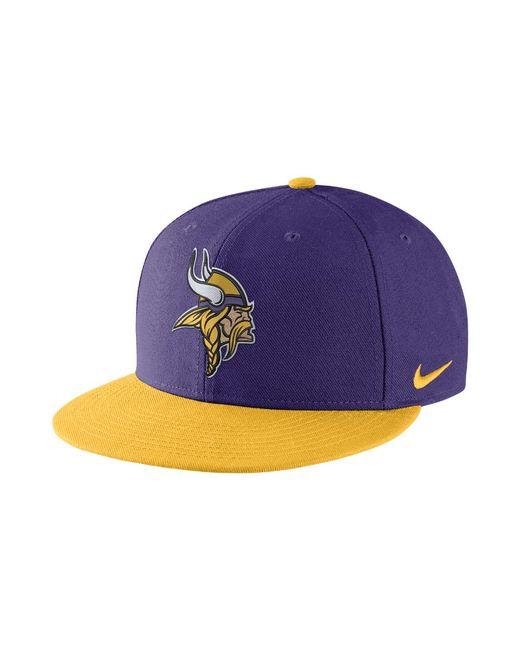 Lyst - Nike Everyday True (nfl Vikings) Adjustable Hat (purple) in ... 15021d947