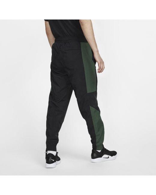 Nike Basketball Trousers in Black for Men Lyst