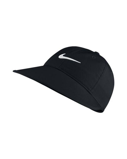 5c527e3d0da Lyst - Nike Big Bill Women s Adjustable Golf Hat (black) in Black ...
