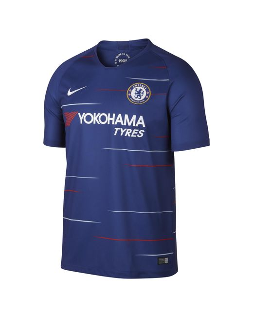 59603a8d5eb Nike - Blue 2018/19 Chelsea Fc Stadium Home Football Shirt for Men - Lyst  ...