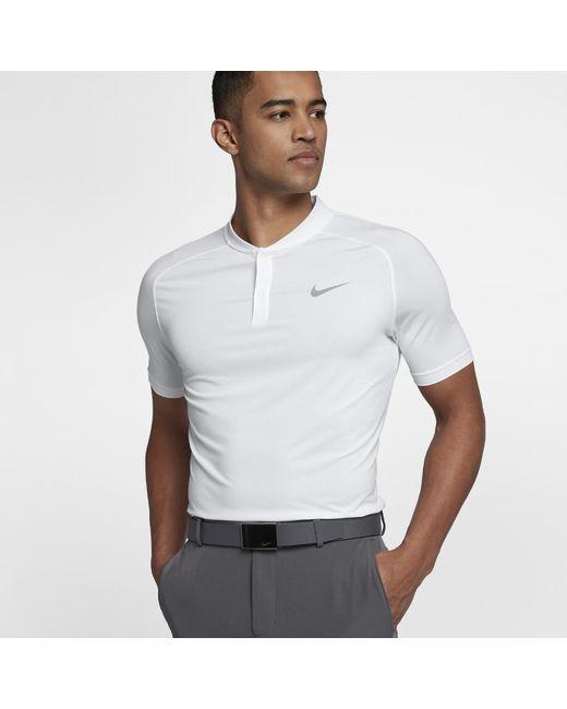 b19e66dcf255 Lyst - Nike Dry Men s Slim Fit Golf Polo Shirt in Gray for Men