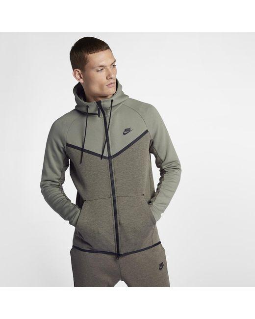 best loved 2eee8 544a6 Nike - Multicolor Sportswear Tech Fleece Windrunner Men s Full-zip Hoodie  for Men - Lyst