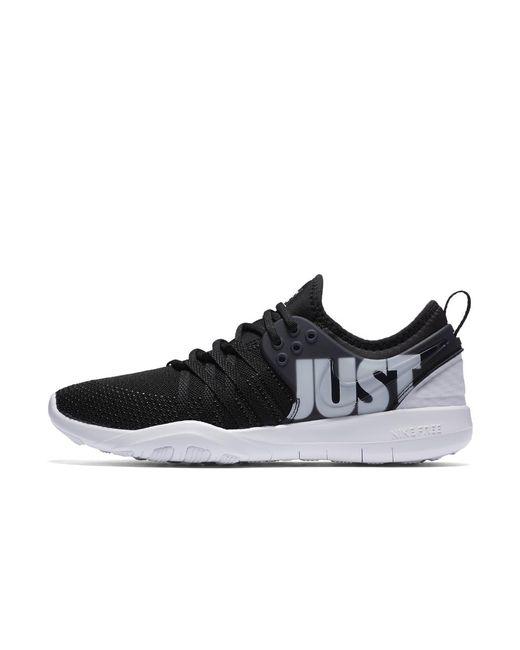 Nike - Black Free Trainer 7 Premium Women's Training Shoe - Lyst