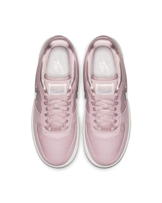 7d328686fe ... Lyst Nike - Purple Air Force 1' 07 Se Premium Shoe ...