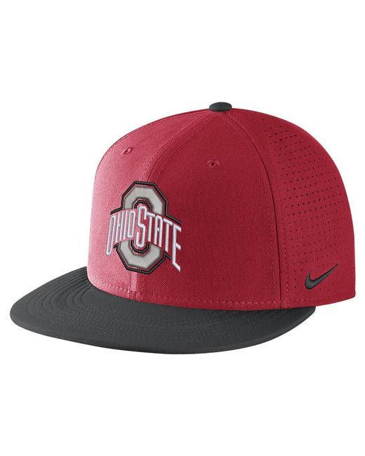 Nike | College Aerobill True (ohio State) Adjustable Hat (red) for Men | Lyst