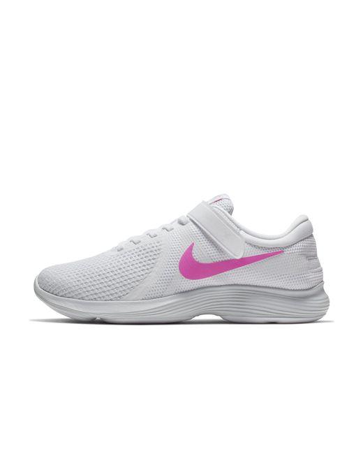 feedd913d019e Nike Revolution 4 Flyease Running Shoe in White - Save 5% - Lyst
