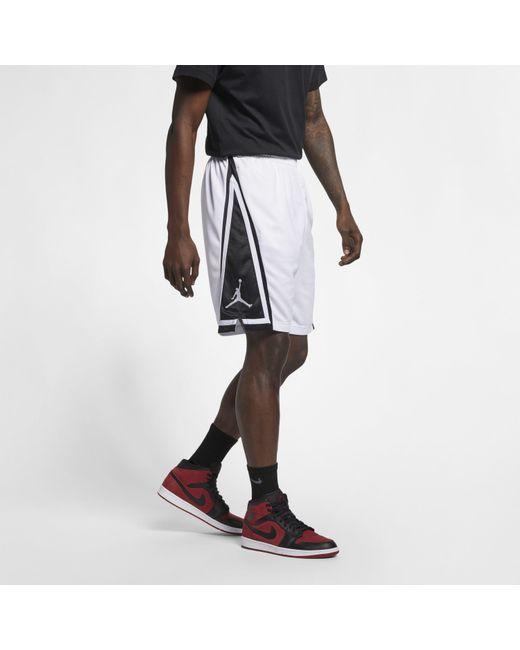 6dba7cb157f ... Nike - White Jordan Franchise Basketball Shorts for Men - Lyst ...
