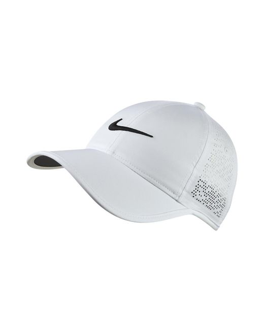 Nike | Perforated Women's Adjustable Golf Hat (white) | Lyst