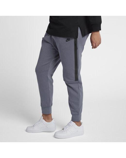 8697417fe771 Lyst - Nike Sportswear Tech Fleece Women s Pants in Black