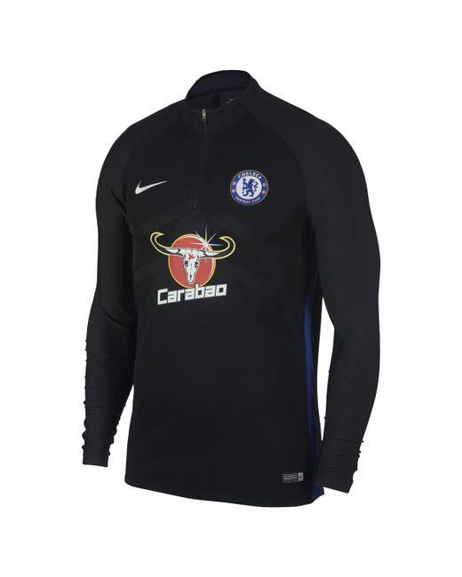 d9d6d4150 Nike - Black Chelsea Fc Aeroswift Strike Drill Football Top for Men - Lyst