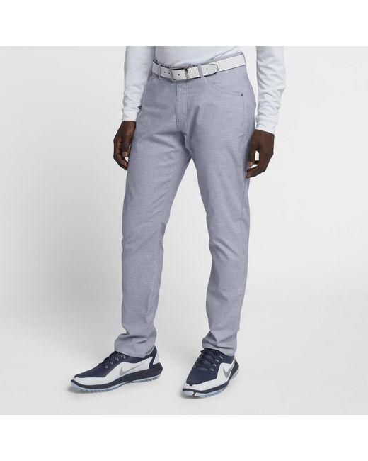 4a0e27e3ee96 Lyst Nike Flex 5 Pocket Men S Slim Fit Golf Pants In Gray For