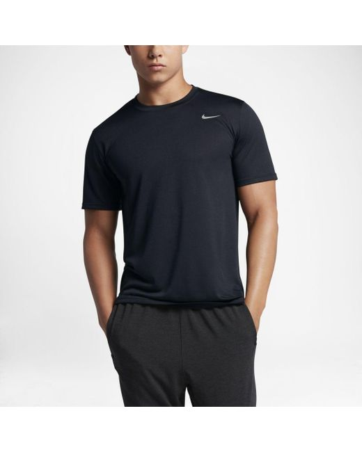 f5678773 Nike Legend 2.0 Training T-shirt in Black for Men - Save 24% - Lyst