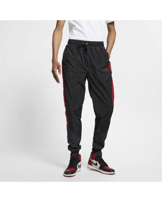 22d9bdd62cc Nike Jordan Diamond Cement Trousers in Black for Men - Lyst