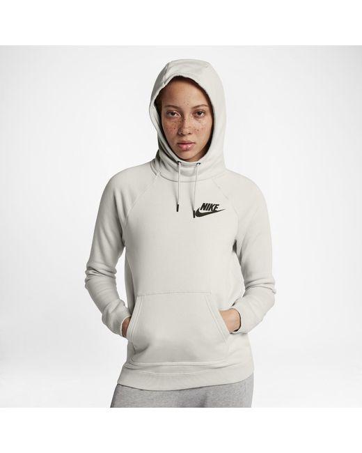 Nike - Multicolor Sportswear Rally Women s Fleece Hoodie - Lyst fb019c6c6