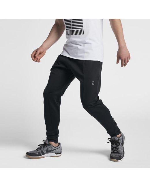Lyst - Nike Court Men s Tennis Pants in Black for Men cbe4cd545053