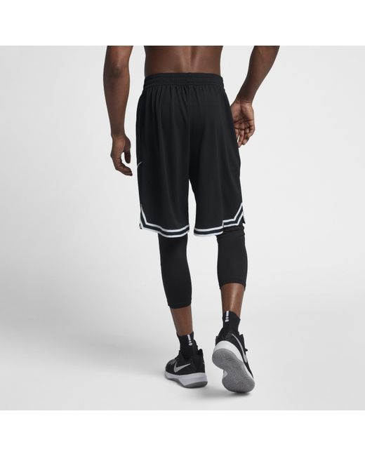 1d4df3d562 ... Nike - Black Dri-fit Dna Basketball Shorts for Men - Lyst ...
