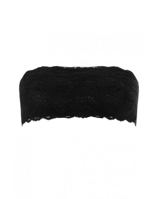 Cosabella - Black Never Say Never Flirtie Bandeau Bra - Lyst