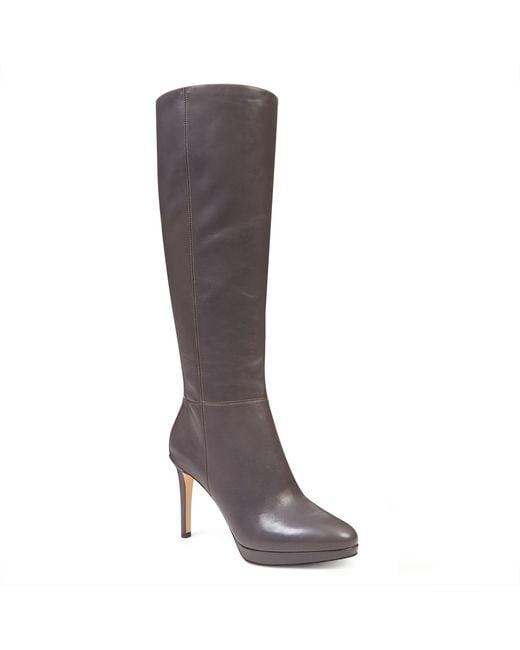 Nine West | Gray Okena Tall Boots | Lyst
