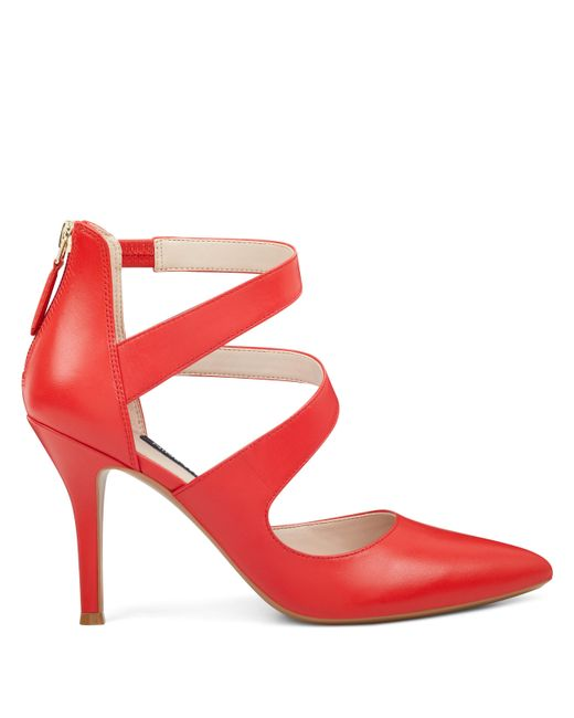 Nine West - Red Florent Pointy Toe Pumps - Lyst