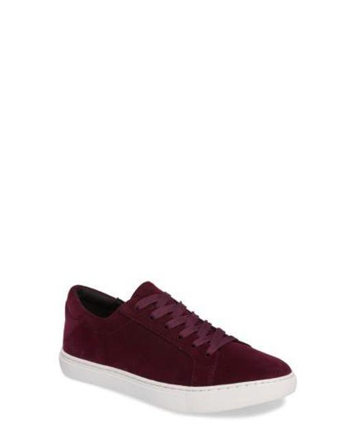 Kenneth Cole | Purple 'kam' Sneaker | Lyst