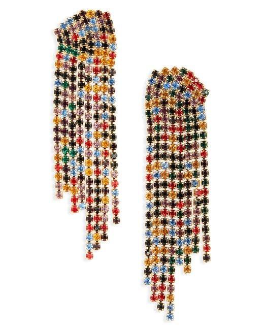 Serefina - Multicolor Sparkle Statement Earrings - Lyst