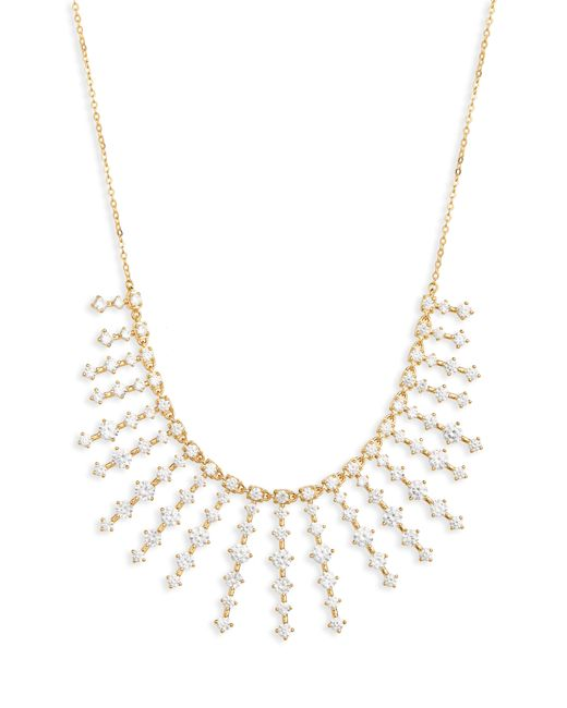 Nordstrom - Metallic Stone Bar Bib Statement Necklace - Lyst