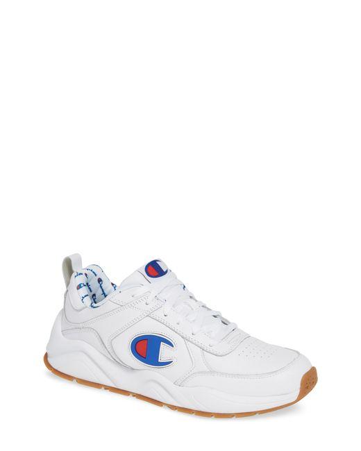 Champion - White Bones Big-c Sneaker for Men - Lyst
