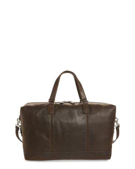 Lyst - Frye Oliver Duffel Bag in Brown for Men e9053553c0bbe