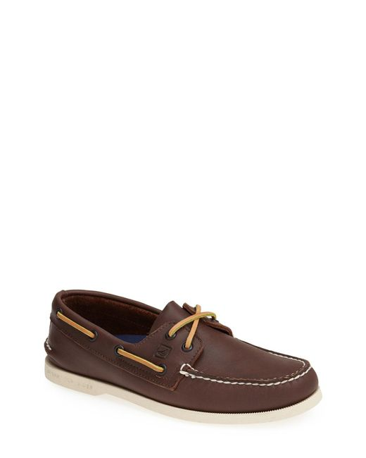 Sperry Top-Sider - Brown 'authentic Original' Boat Shoe for Men - Lyst