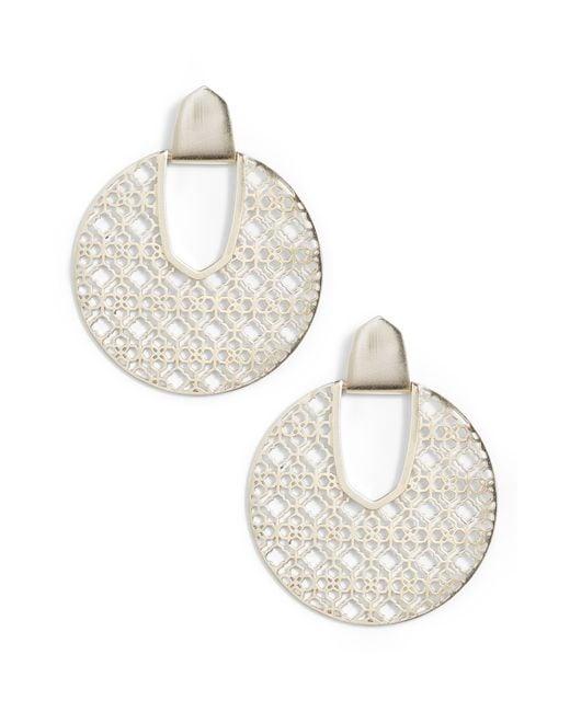 Kendra Scott - Metallic Diane Drop Earrings - Lyst
