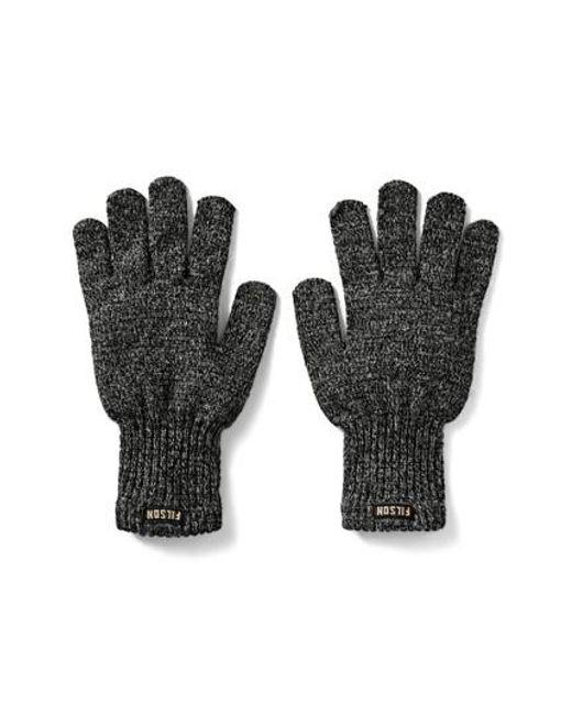 Filson - Gray Wool Blend Knit Gloves for Men - Lyst