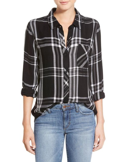 Rails - Black Hunter Plaid Shirt - Lyst