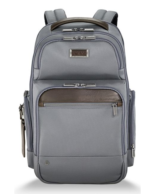 Briggs & Riley - Gray @work Large Cargo Backpack for Men - Lyst