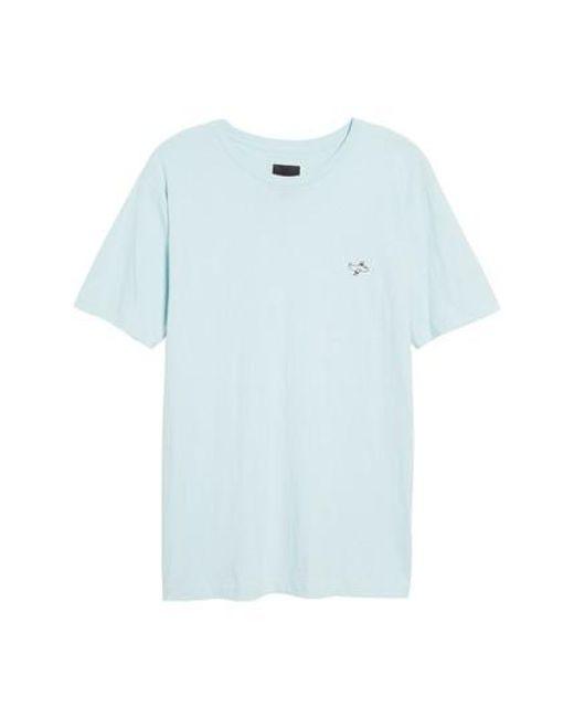 Barney Cools | Blue Aeroplane Applique T-shirt for Men | Lyst